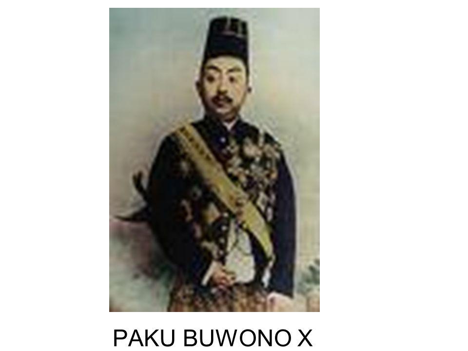 PAKU BUWONO X