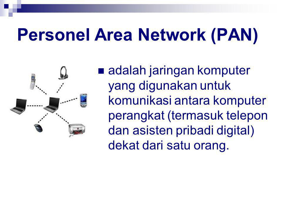 Personel Area Network (PAN)