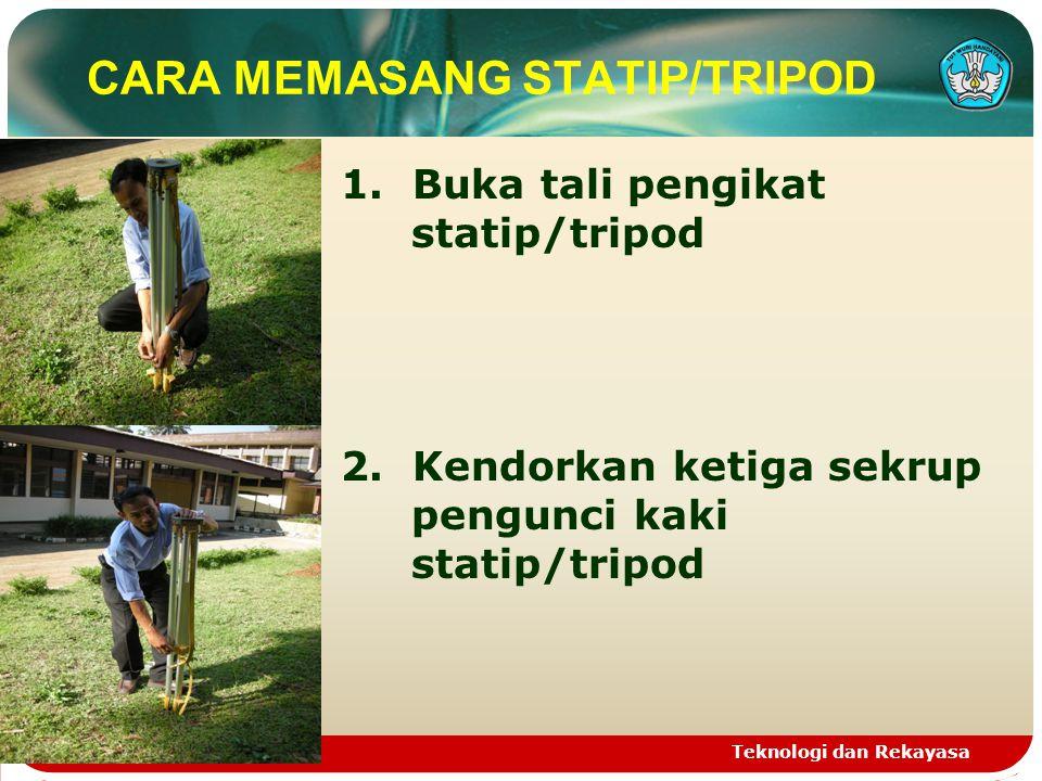 CARA MEMASANG STATIP/TRIPOD