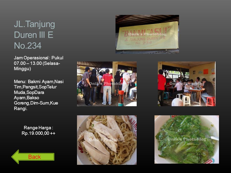 JL.Tanjung Duren III E No.234