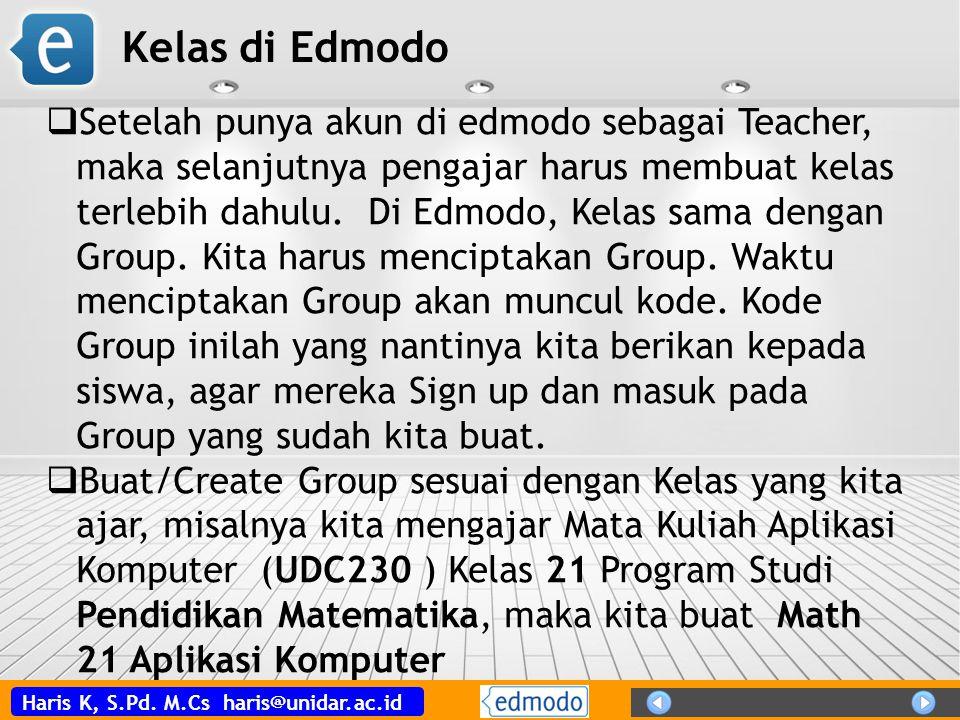 Kelas di Edmodo