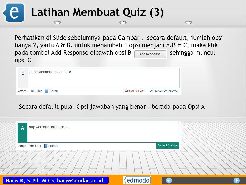 Latihan Membuat Quiz (3)