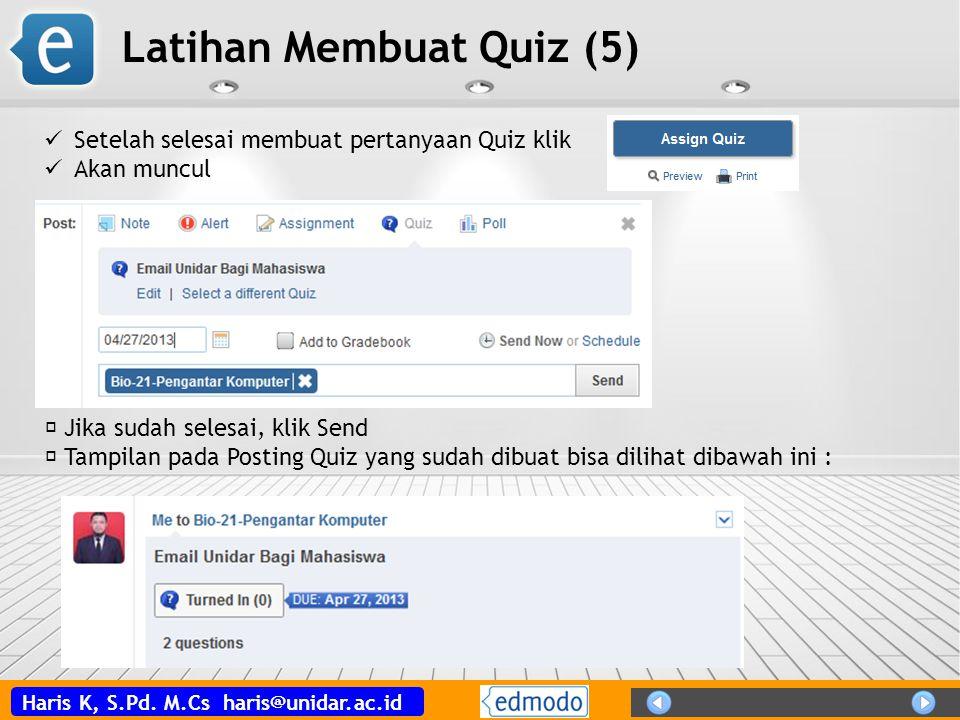 Latihan Membuat Quiz (5)