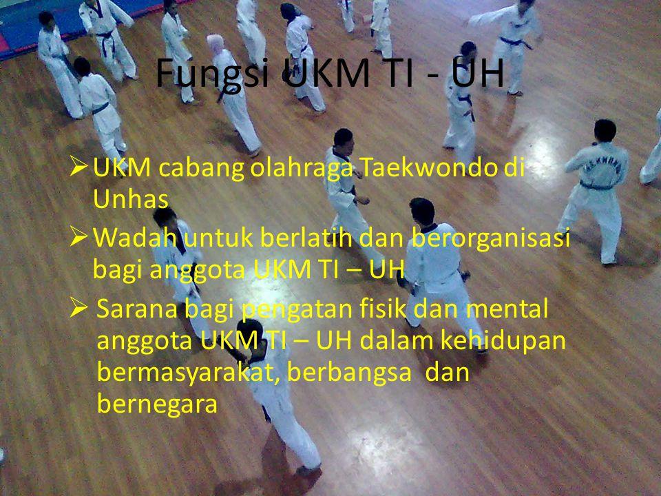 Fungsi UKM TI - UH UKM cabang olahraga Taekwondo di Unhas