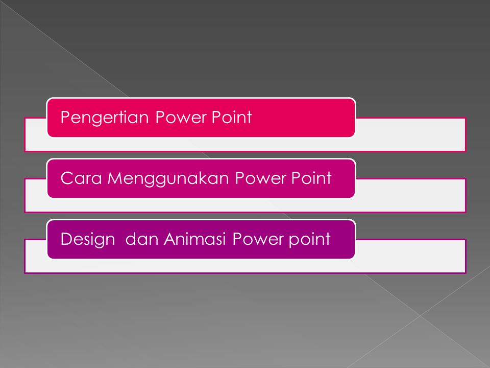 Pengertian Power Point