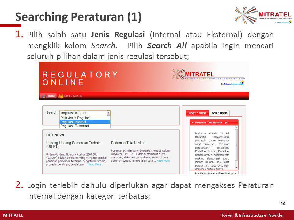 Searching Peraturan (1)