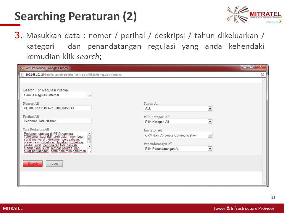 Searching Peraturan (2)