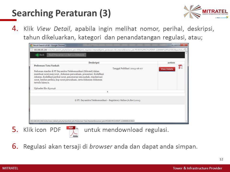 Searching Peraturan (3)