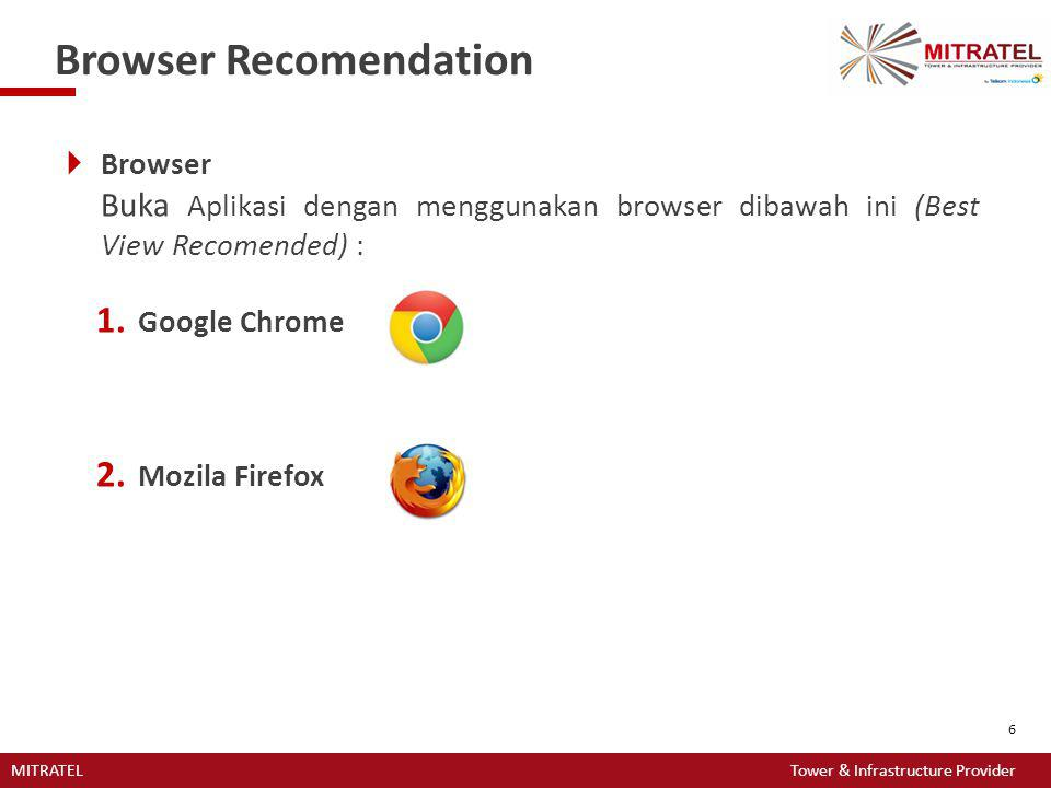 Browser Recomendation