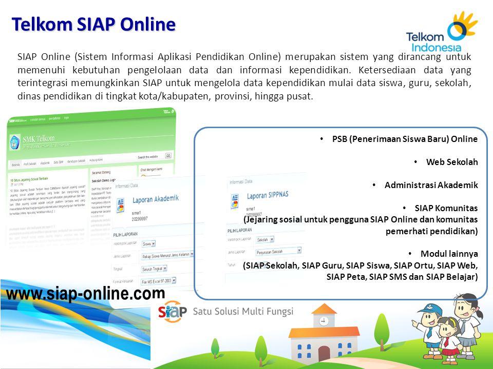 Telkom SIAP Online www.siap-online.com 10 10