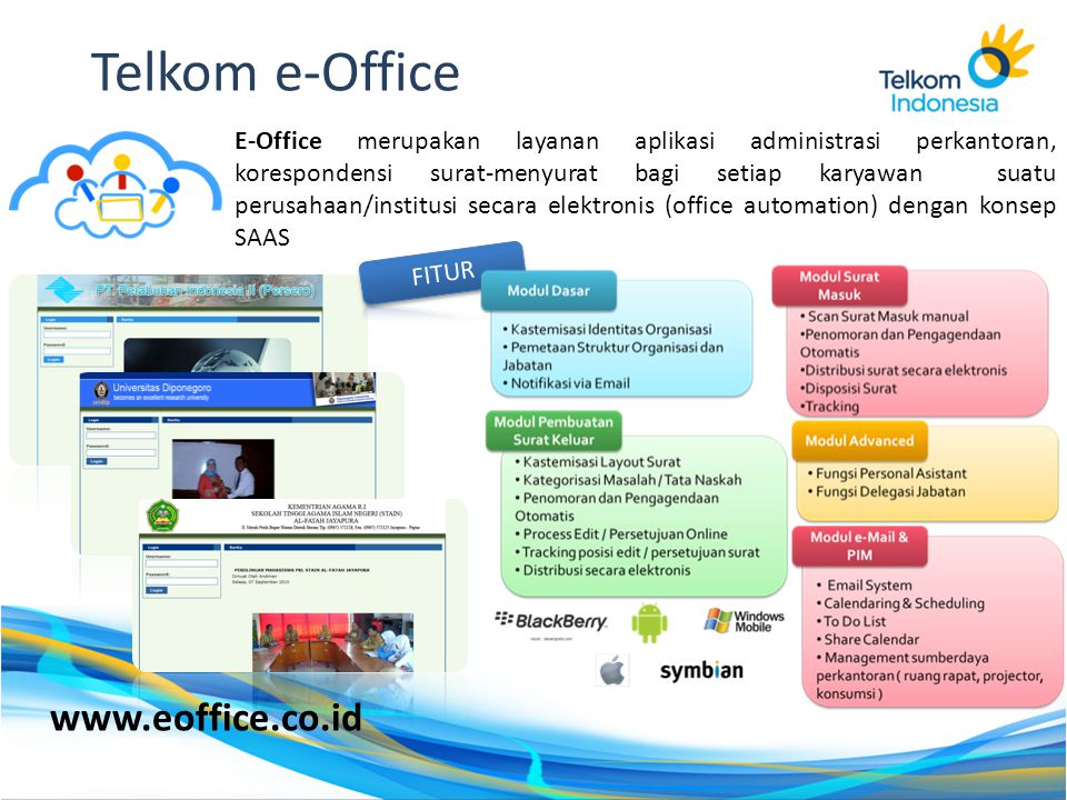Telkom e-Office www.eoffice.co.id