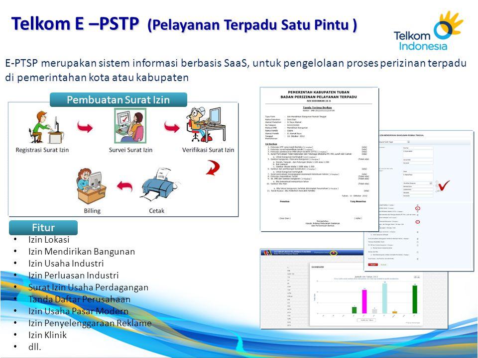 Telkom E –PSTP (Pelayanan Terpadu Satu Pintu )