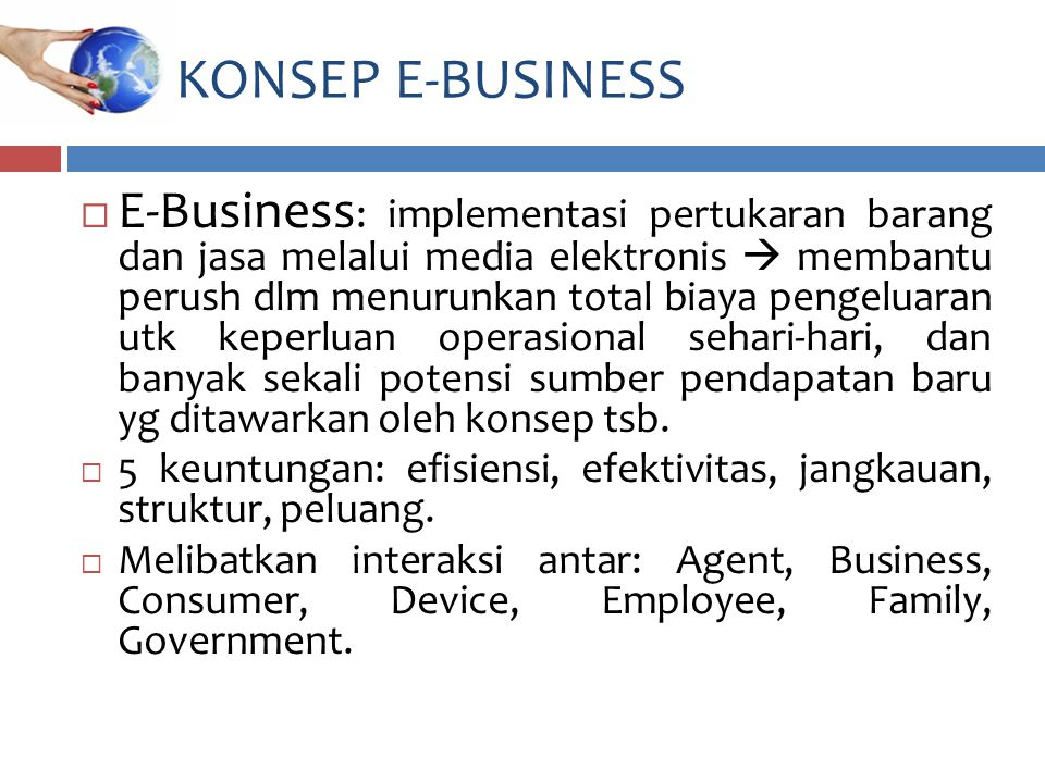 KONSEP E-BUSINESS
