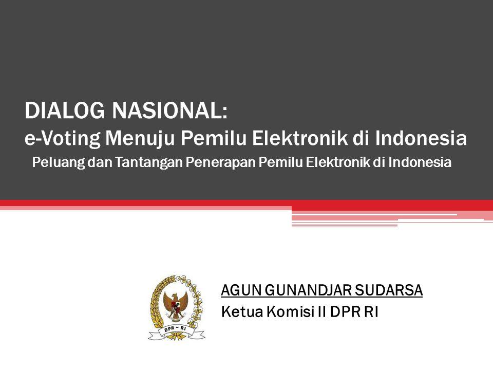 DIALOG NASIONAL: e-Voting Menuju Pemilu Elektronik di Indonesia
