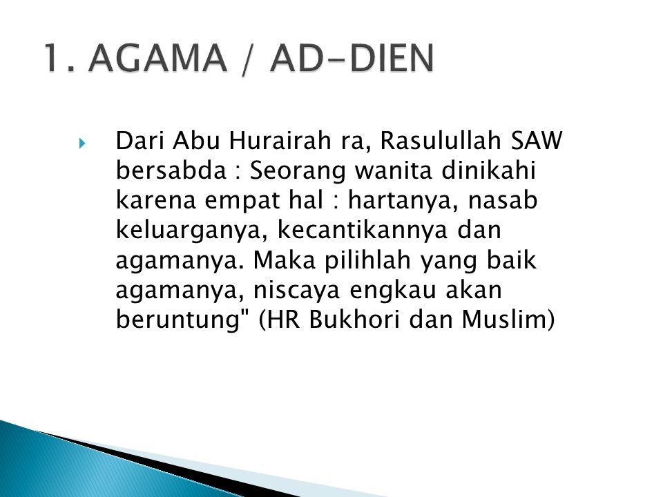 1. AGAMA / AD-DIEN