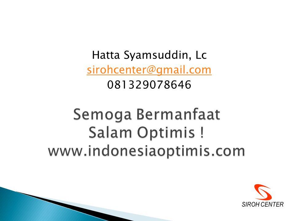 Semoga Bermanfaat Salam Optimis ! www.indonesiaoptimis.com