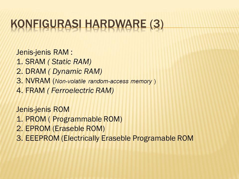 Konfigurasi hardware (3)