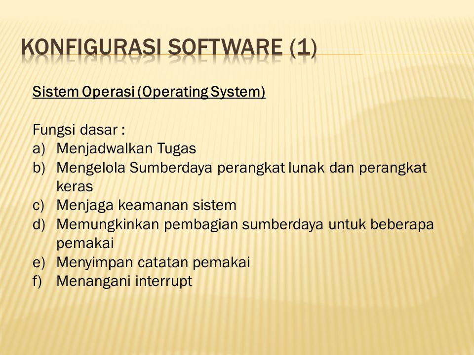 Konfigurasi software (1)