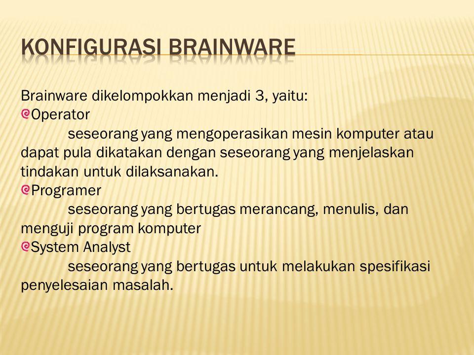 Konfigurasi brainware