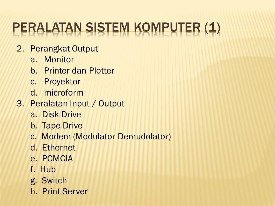 Peralatan sistem komputer (1)