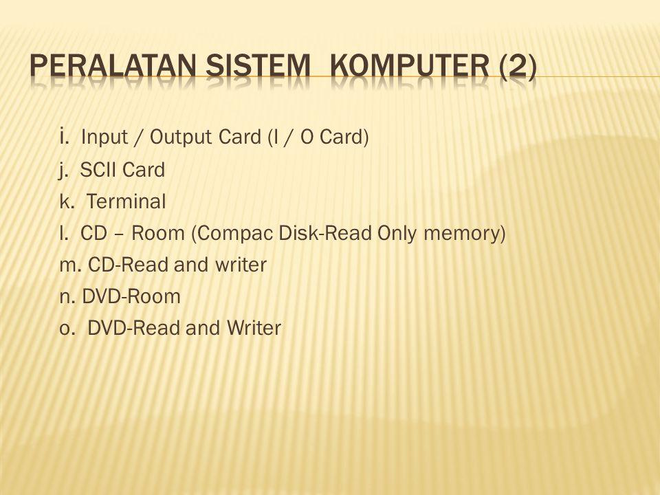 Peralatan sistem komputer (2)