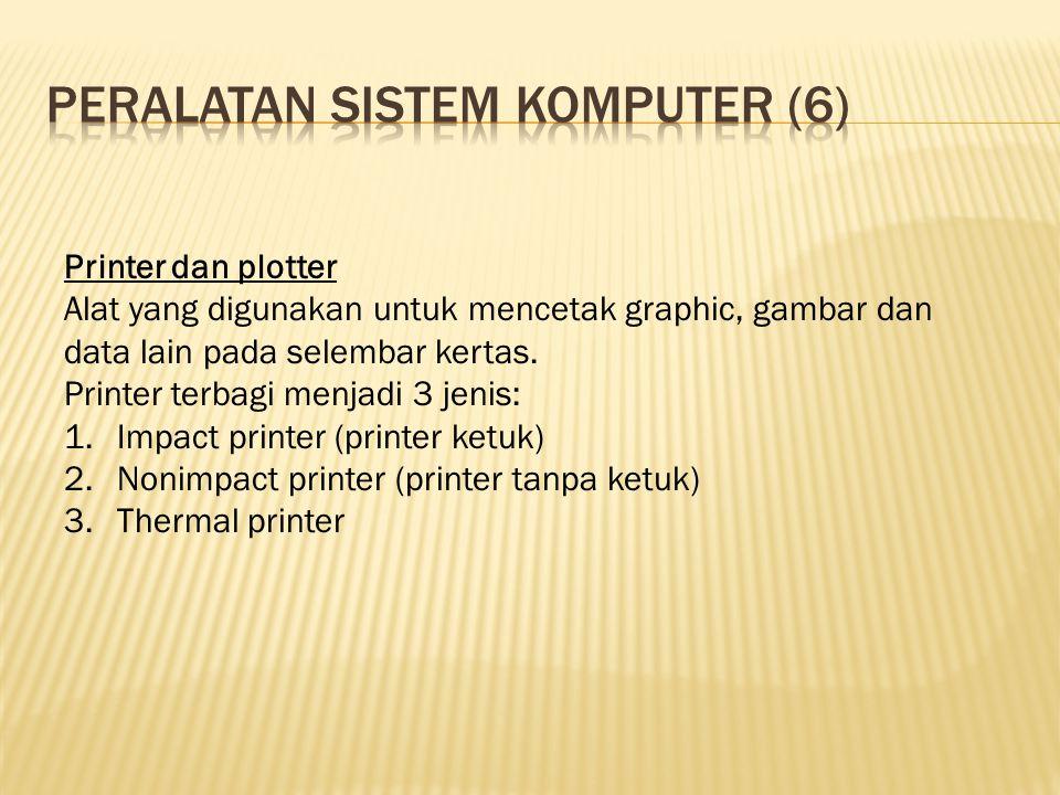 Peralatan sistem komputer (6)