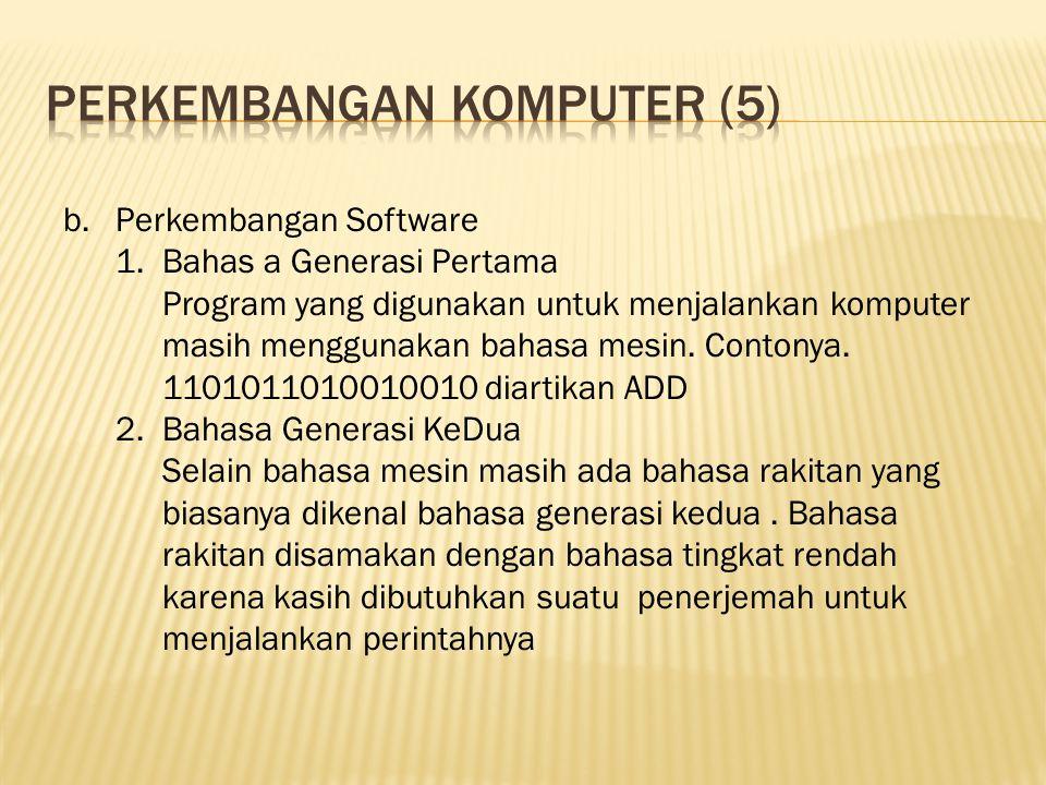 Perkembangan komputer (5)