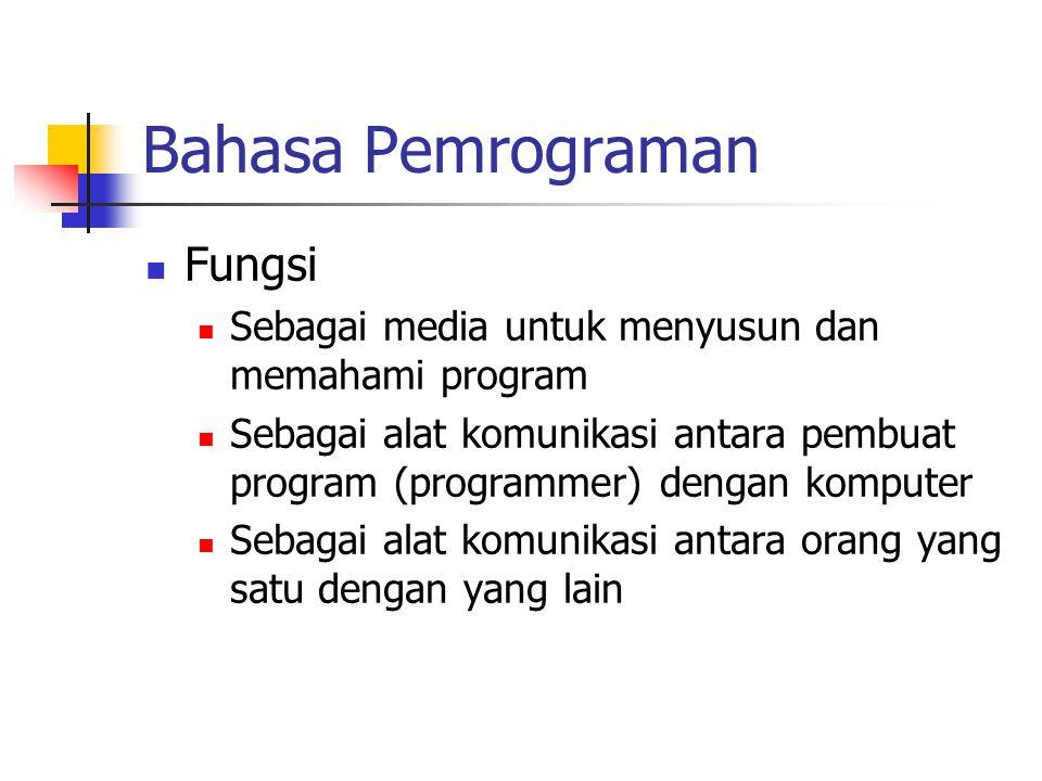 Bahasa Pemrograman Fungsi