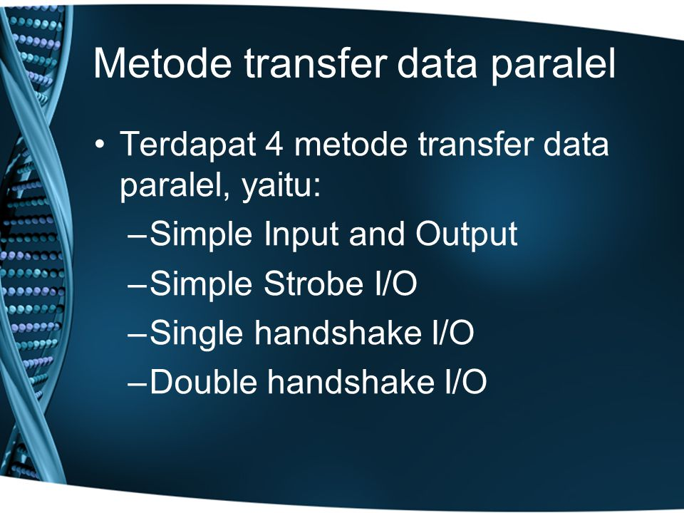 Metode transfer data paralel