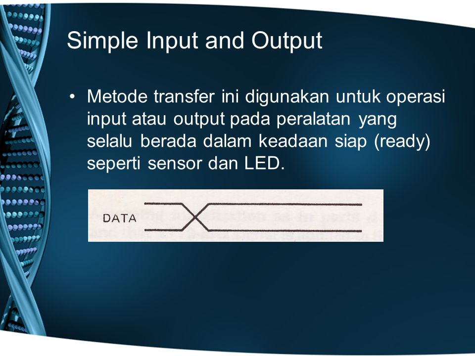 Simple Input and Output