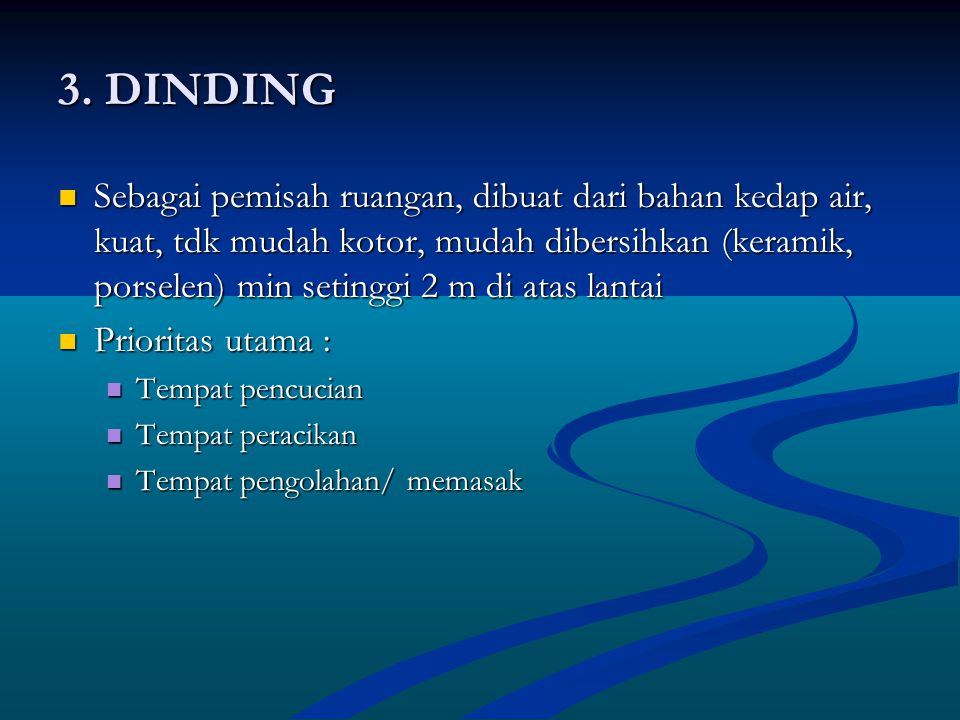 3. DINDING