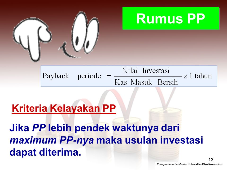 Rumus PP Kriteria Kelayakan PP