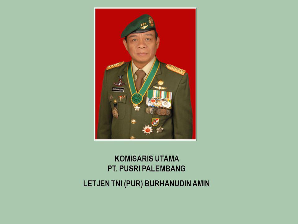 LETJEN TNI (PUR) BURHANUDIN AMIN