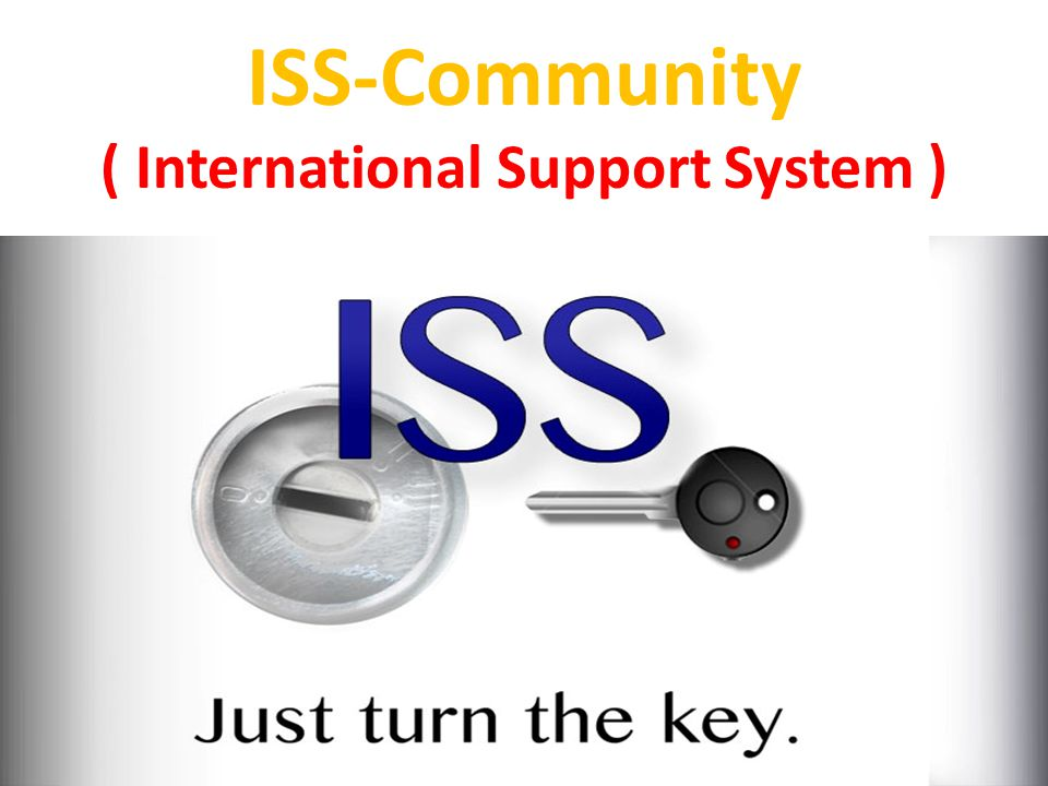 ISS-Community ( International Support System )