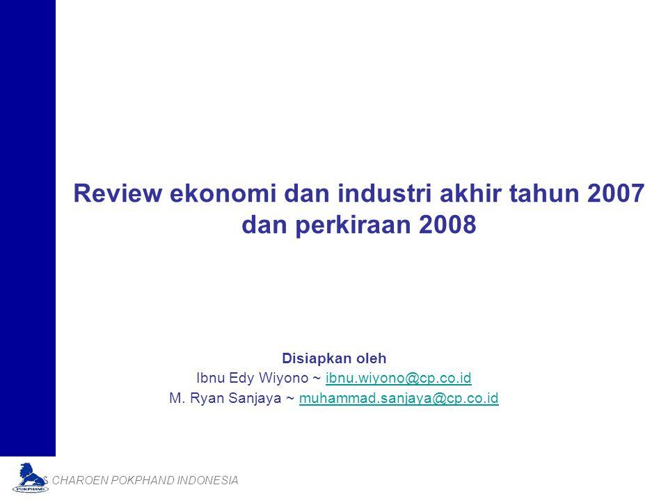 Review ekonomi dan industri akhir tahun 2007 dan perkiraan 2008