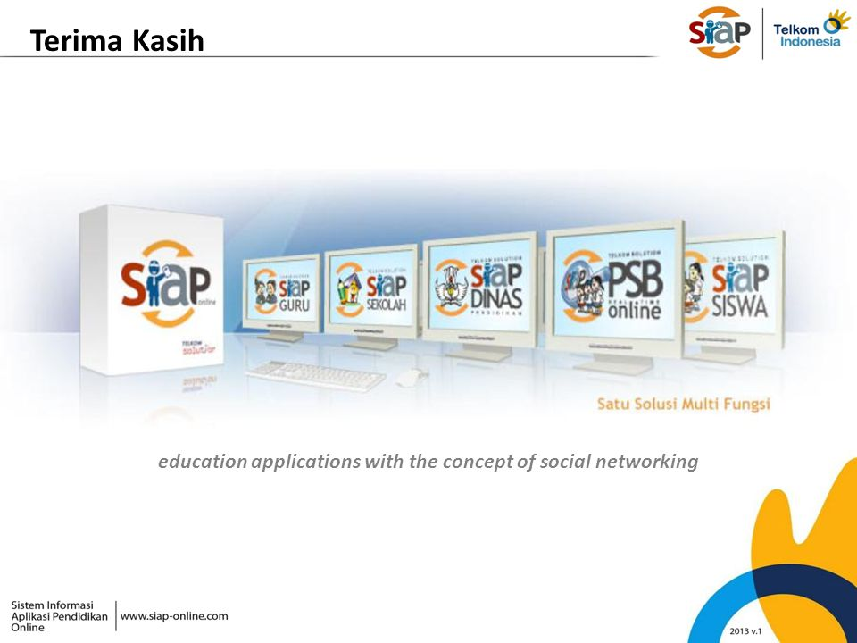 education applications with the concept of social networking