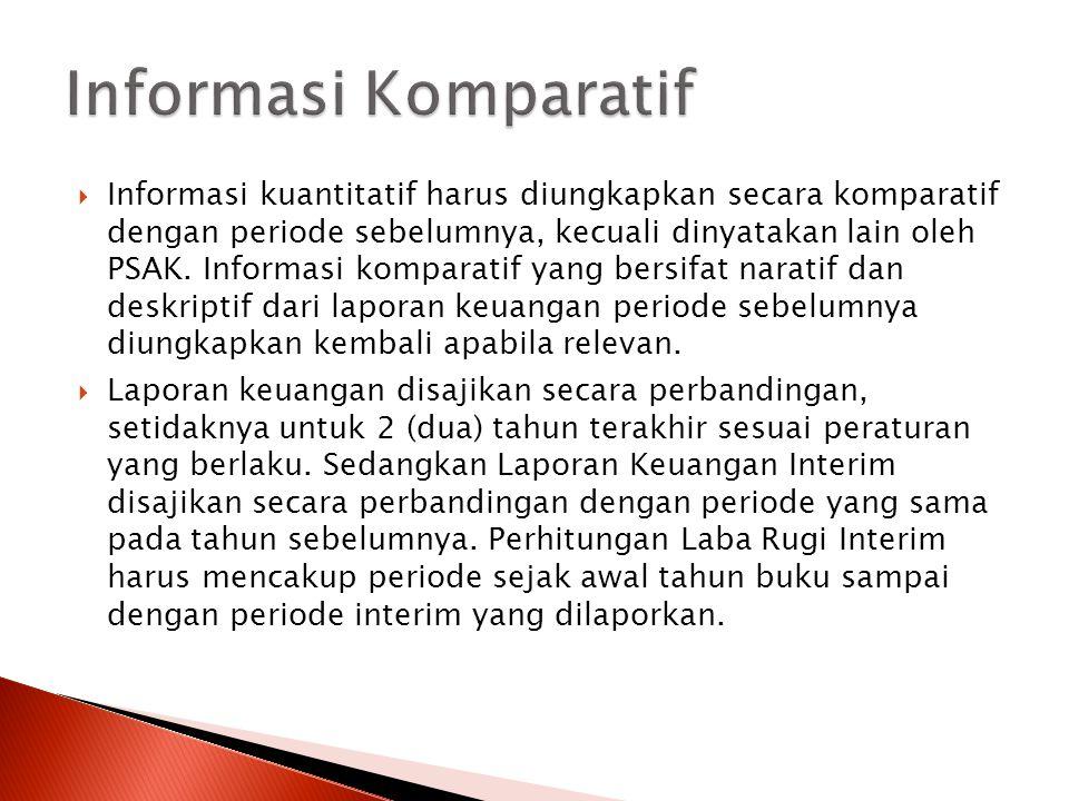 Informasi Komparatif