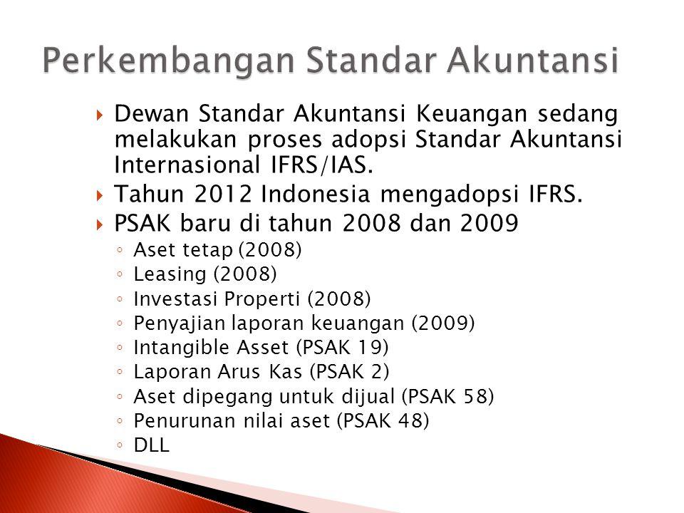 Perkembangan Standar Akuntansi
