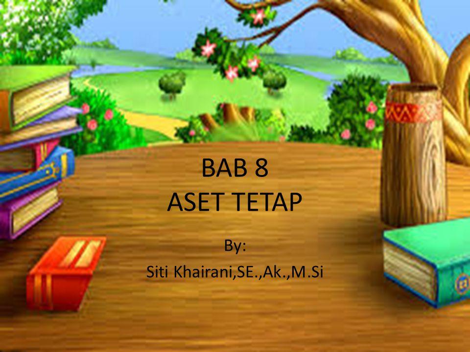 By: Siti Khairani,SE.,Ak.,M.Si