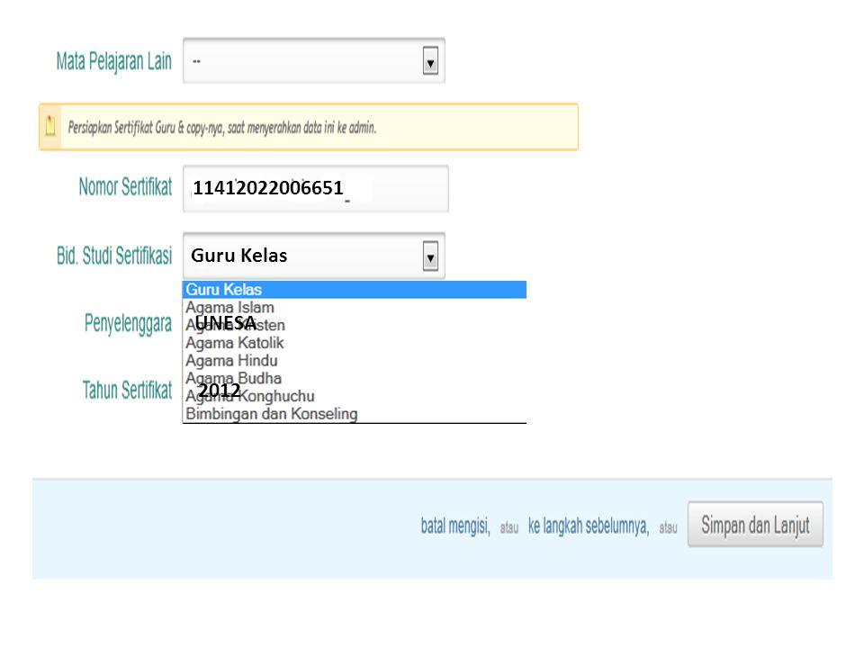 11412022006651 Guru Kelas UNESA 2012