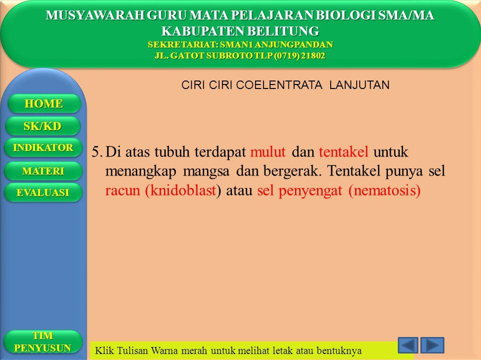 MUSYAWARAH GURU MATA PELAJARAN BIOLOGI SMA/MA