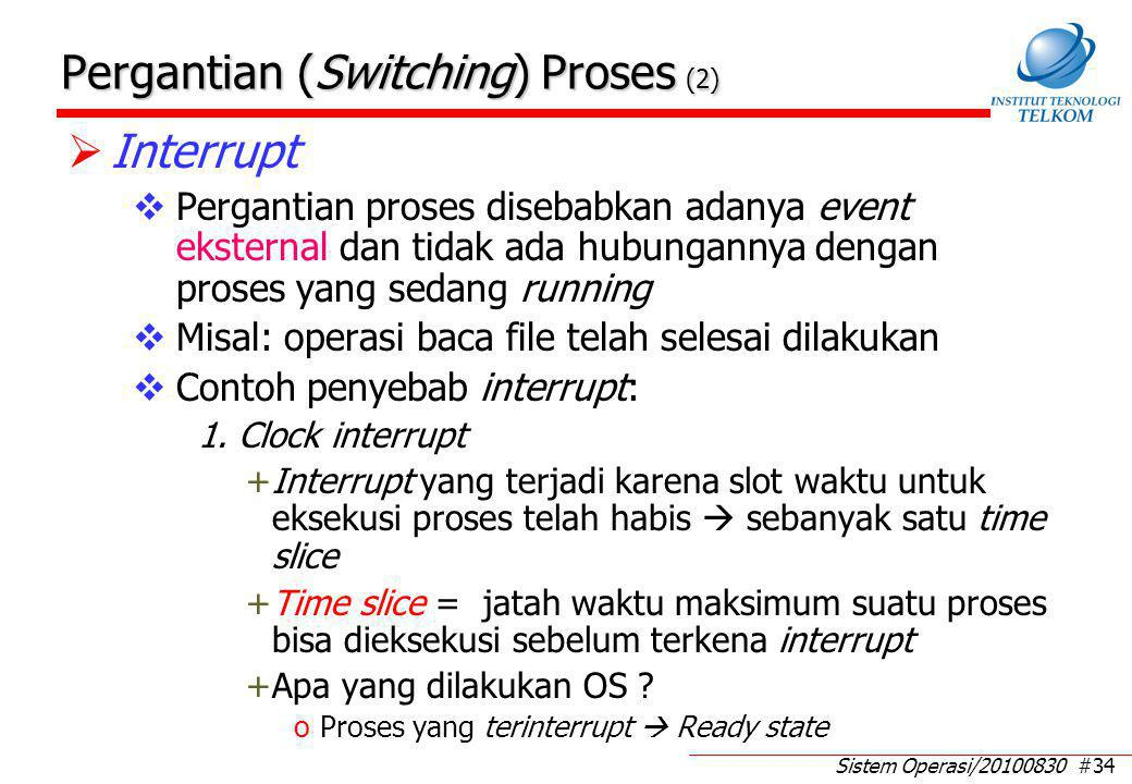 Pergantian (Switching) Proses (3)