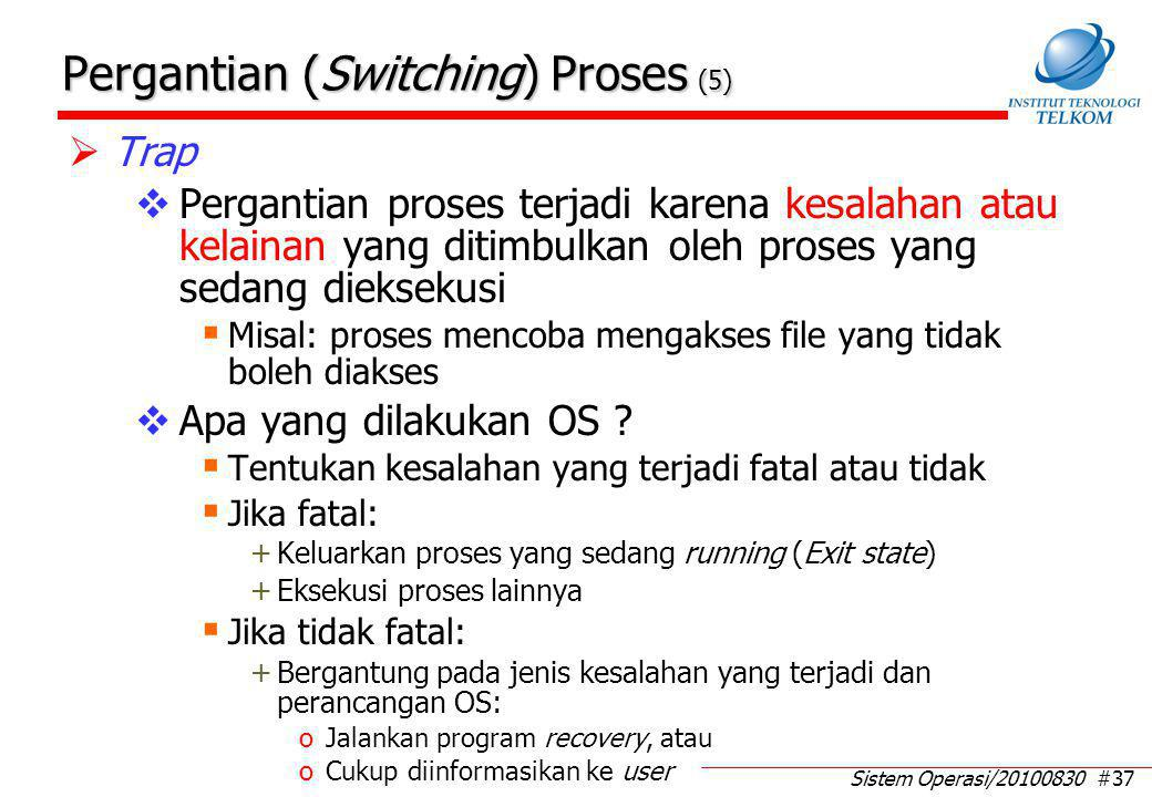 Pergantian (Switching) Proses (6)
