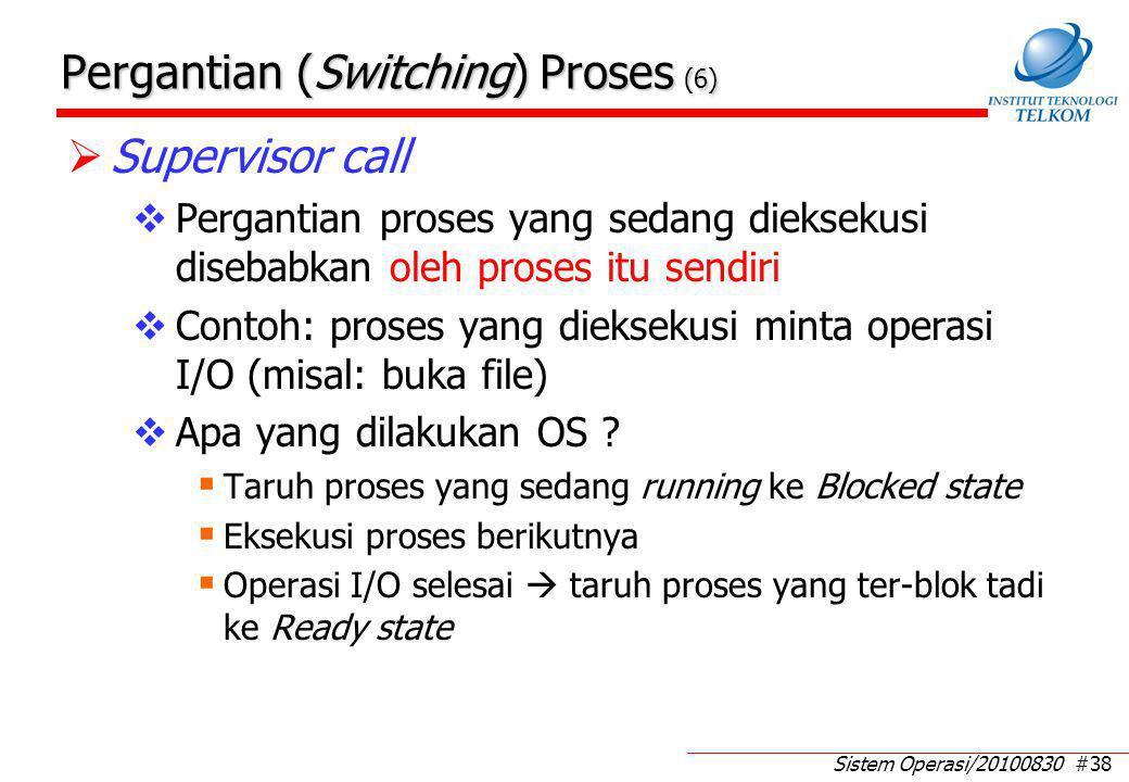 Perubahan (Change) Status Proses (1)