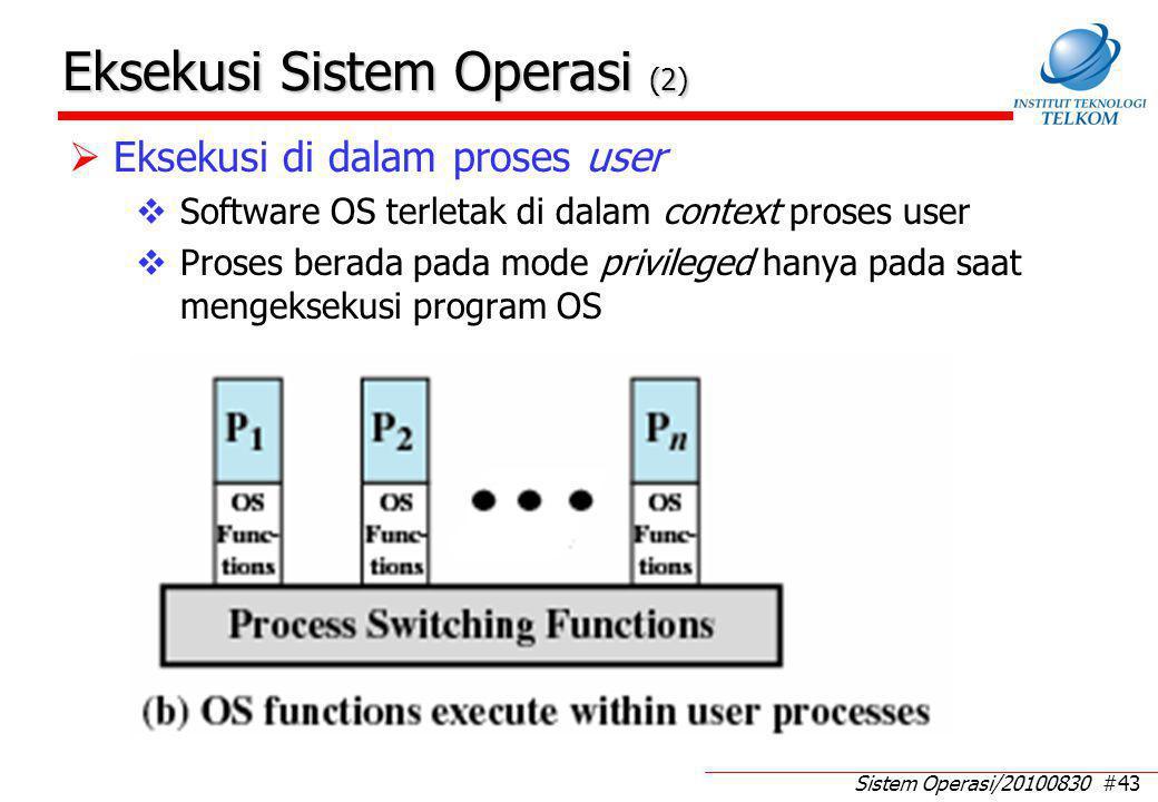 Eksekusi Sistem Operasi (3)