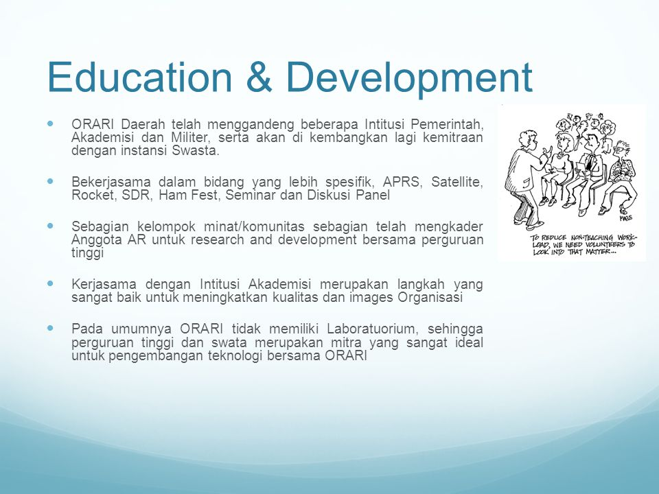 Education & Development