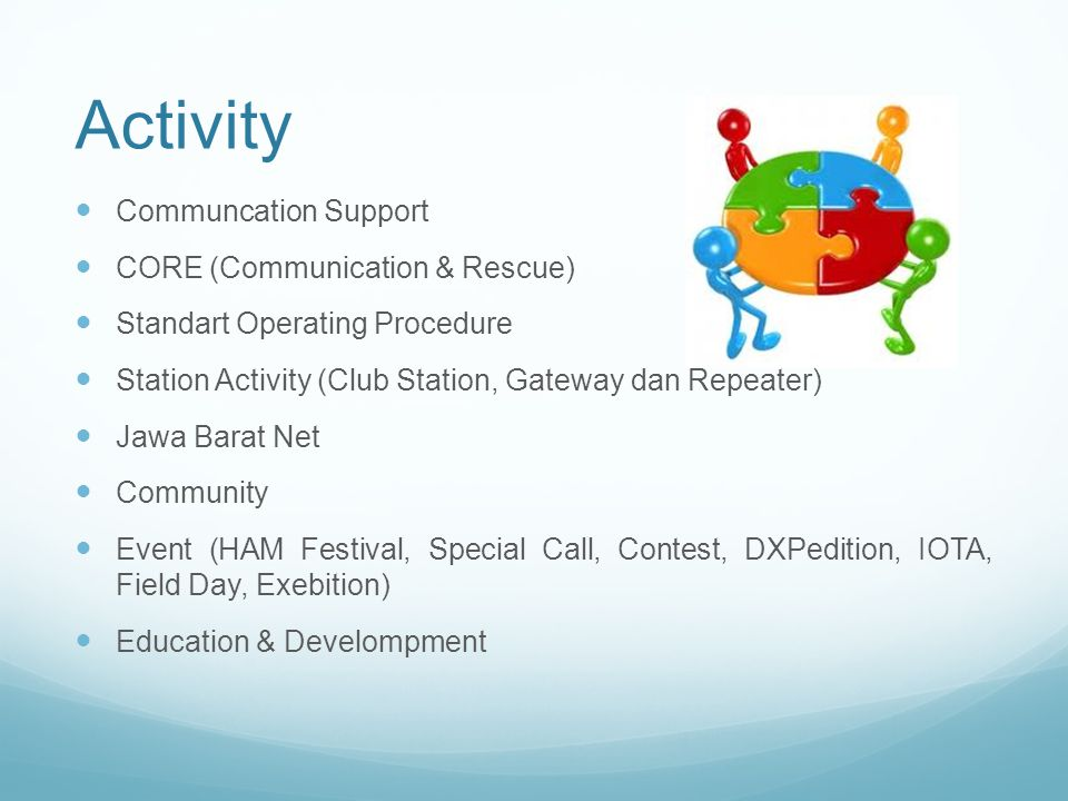 Activity Communcation Support CORE (Communication & Rescue)