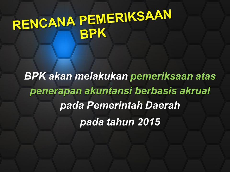 Rencana Pemeriksaan BPK