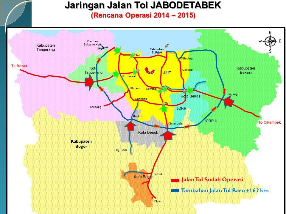 Jaringan Jalan Tol JABODETABEK