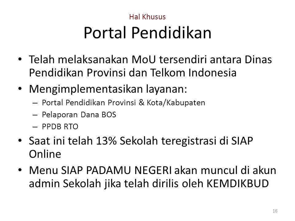 Hal Khusus Portal Pendidikan